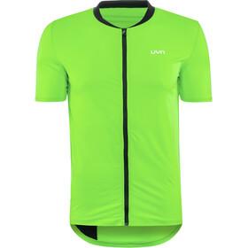 UYN Activyon MTB OW Maglietta Con Zip Intera Uomo, green jasmine